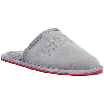 Shoes Men Slippers BOSS Cozy Mens Grey Slippers Grey