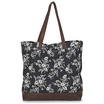 Bags Women Shopping Bags / Baskets Superdry LARGE PRINTED TOTE Black