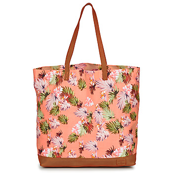 Bags Women Shopping Bags / Baskets Superdry LARGE PRINTED TOTE Pink