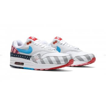 Shoes Low top trainers Nike Air Max 1 x Parra White/Pure Platinum