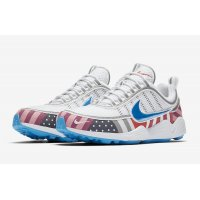 Shoes Low top trainers Nike Zoom Spiridon x Parra White/Multi-Color