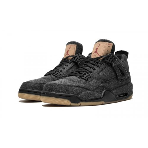 Shoes Low top trainers Nike Air Jordan 4 Levi's