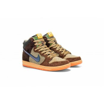 Shoes Low top trainers Nike SB Dunk High x Concepts