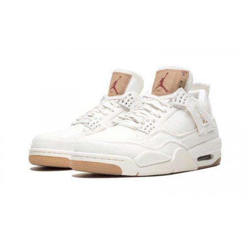 Shoes Low top trainers Nike Air Jordan 4 Levi's