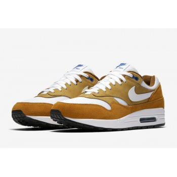 Shoes Low top trainers Nike Air Max 1 Premium Curry Dark Curry/Sport Blue/Black/True White