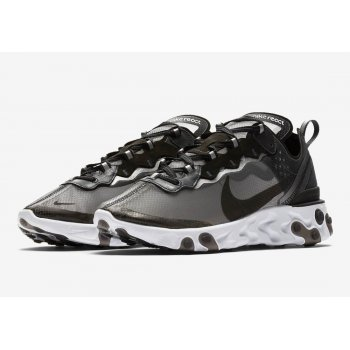 Shoes Low top trainers Nike React Element 87 Anthracite Anthracite/Black-White