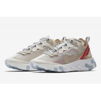 Shoes Low top trainers Nike React Element 87 Sail Sail/Light Bone-White-Rush Orange-Black
