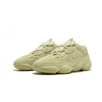 Shoes Low top trainers adidas Originals Yeezy 500 Desert Rat Moon Yellow Super Moon Yellow