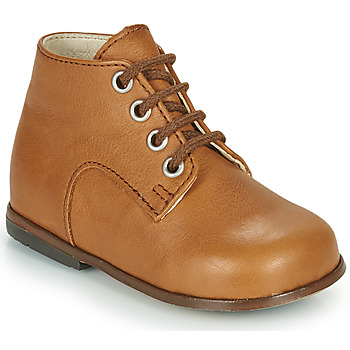 Shoes Girl Hi top trainers Little Mary MILOTO Brown
