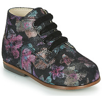 Shoes Girl Hi top trainers Little Mary MILOTO Black