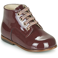Shoes Girl Hi top trainers Little Mary MILOTO Bordeaux