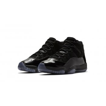 Shoes Low top trainers Nike Air Jordan 11 Blackout Black/Black-Black