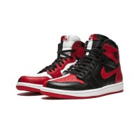 Shoes Hi top trainers Nike Air Jordan 1 Homage To Home Black/White-University Red
