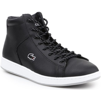 Shoes Women Hi top trainers Lacoste 30SPW4113 lifestyle shoes. black