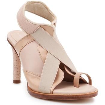 Shoes Women Sandals Lacoste 7-25FSW0000A75 women's heel shoes beige