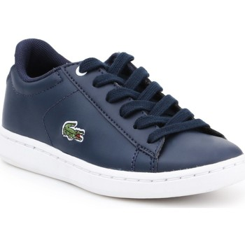Shoes Children Low top trainers Lacoste children's shoes 7-33SPC100395K navy