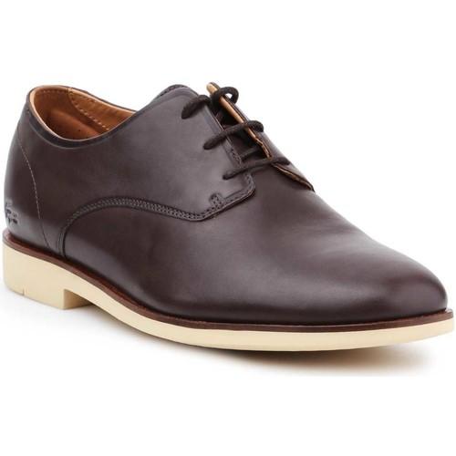 Shoes Men Derby Shoes Lacoste Crosley Prem116 1 CAM 7-31CAM0110176 brown