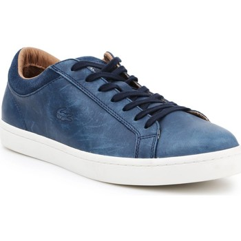 Shoes Men Low top trainers Lacoste 7-30SRM0027003 men's sneakers navy