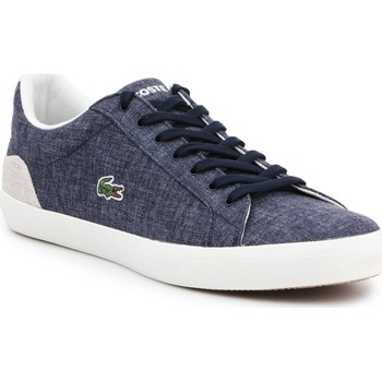 Shoes Men Low top trainers Lacoste 7-35CAM007567F men's sneakers navy
