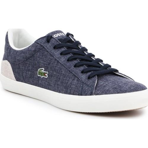 Shoes Men Low top trainers Lacoste 7-35CAM007567F men's lifestyle shoes navy