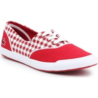Shoes Women Low top trainers Lacoste Lancelle Lace Lifestyle Shoes 3 7-31SPW0044047 red