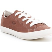 Shoes Women Low top trainers Lacoste 7-27SRW1240176 women's sneakers brown