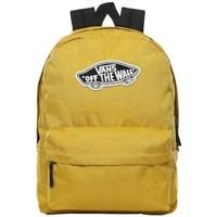 Bags Rucksacks Vans Realm Backpack Yellow