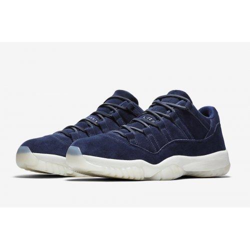 Shoes Low top trainers Nike Air Jordan 11 Low Jeter Binary Blue/Sail-Binary Blue