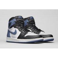 Shoes Low top trainers Nike Air Jordan 1 High Blue Moon Summit White/Black-Blue Moon