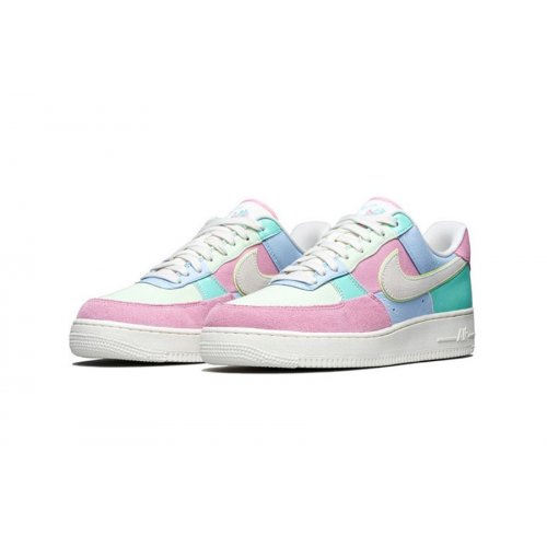 Shoes Low top trainers Nike Air Force 1 Low Easter Egg Ice Blue/Sail-Hyper Turq-Barely Volt