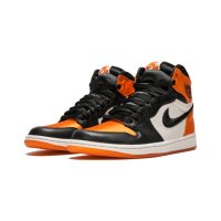 Shoes Hi top trainers Nike Air Jordan 1 High Satin Shattered Backboard Black/Starfish-Sail-Black