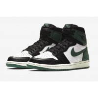Shoes Hi top trainers Nike Air Jordan 1 High Clay Green Summit White/Black-Clay Green