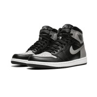 Shoes Hi top trainers Nike Air Jordan 1 High Shadow Black/Soft Grey