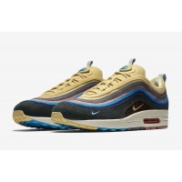 Shoes Low top trainers Nike Air Max 1/97 Sean Wotherspoon Light Blue Fury/Lemon Wash