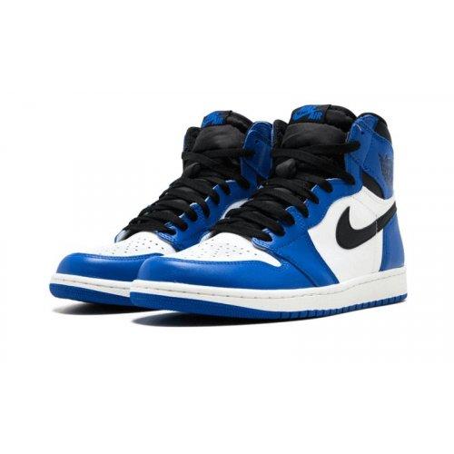 Shoes Hi top trainers Nike Air Jordan 1 High Game Royal Game Royal/Summit White-Black