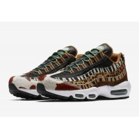 Shoes Low top trainers Nike Air Max 95 Animal Pony/Black/Classic Green-Sport Red
