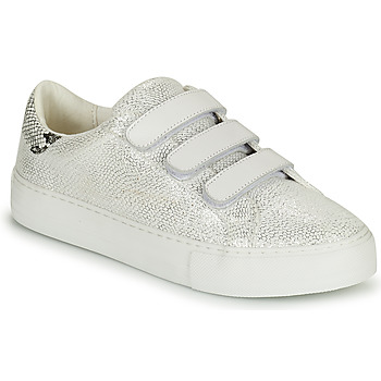 Shoes Children Low top trainers No Name ARCADE-STRAPS Silver