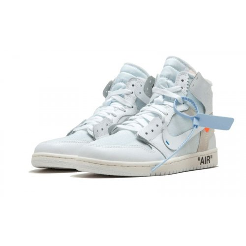 Shoes Low top trainers Nike Air Jordan 1 High x Off White