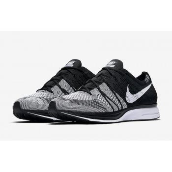 Shoes Low top trainers Nike Flyknit Trainer Oreo 2.0 Black/White-Black