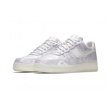 Shoes Low top trainers Nike Air Force 1 Low x CLOT Premium White/White-White