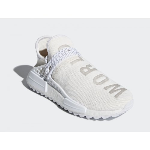 Shoes Low top trainers adidas Originals NMD HU Trail BC Blank Canvas White