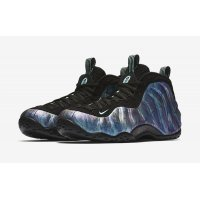 Shoes Hi top trainers Nike Air Foamposite One Abalone Black/Aurora Green-Black-Aurora Green