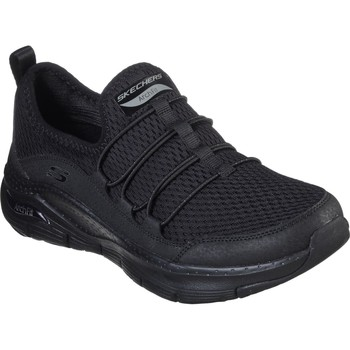 Shoes Women Running shoes Skechers 149056BBK3 Arch Fit Lucky Thoughts Black and Black