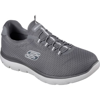 Shoes Men Fitness / Training Skechers 52811-CHAR-06 Summits Charcoal