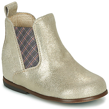 Shoes Girl Mid boots Little Mary ARON Silver
