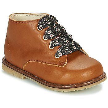Shoes Girl Hi top trainers Little Mary JUDITE Brown