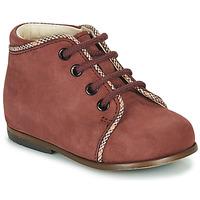 Shoes Girl Hi top trainers Little Mary MEGGIE Bordeaux