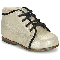 Shoes Girl Hi top trainers Little Mary MEGGIE Silver
