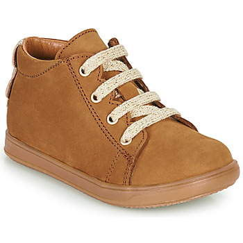 Shoes Girl Low top trainers Little Mary CLELIE Brown