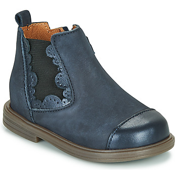 Shoes Girl Mid boots Little Mary ELVIRE Blue